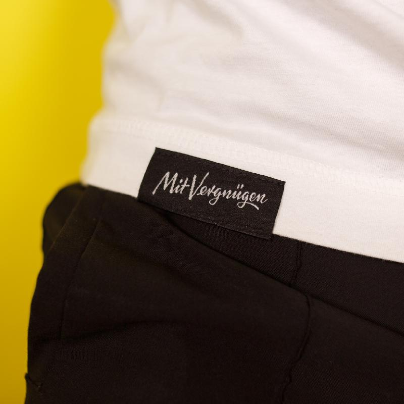 Mit Vergnügen Mit Vergnügen T-Shirt Weiss
